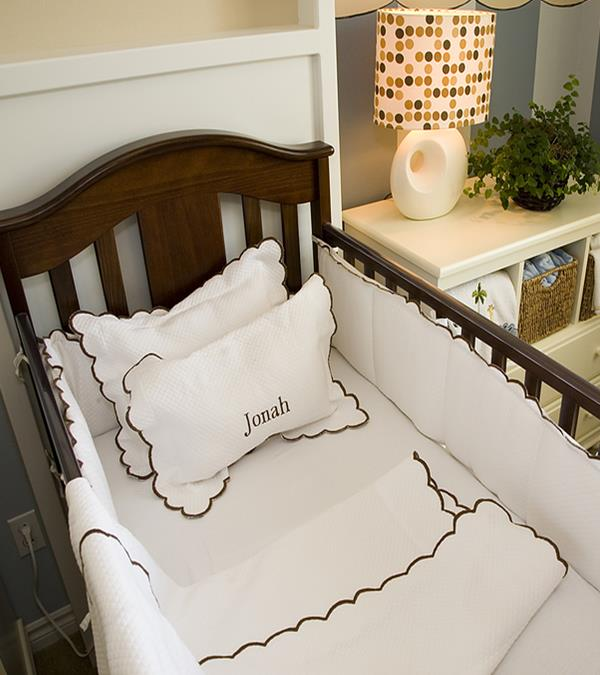 Satin Baby Fitted Crib Sheet