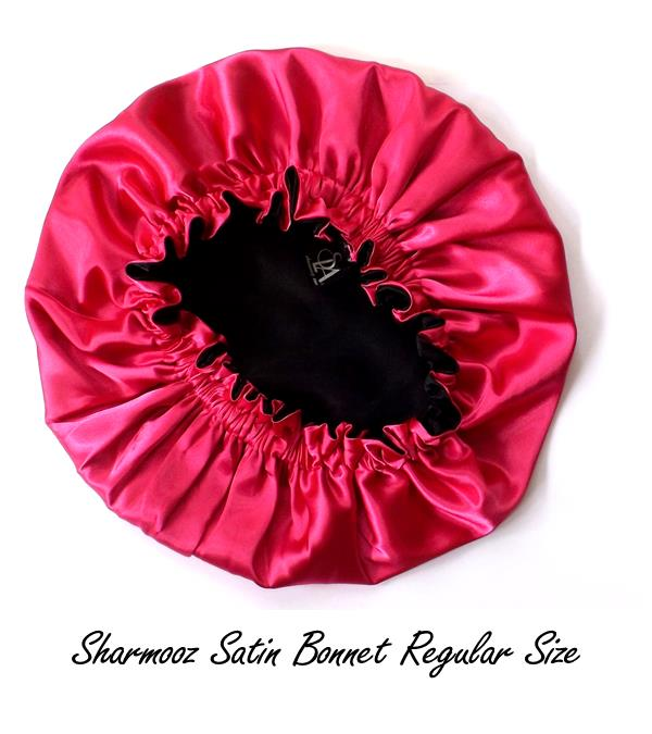 """not your mother's"" satin bonnet"