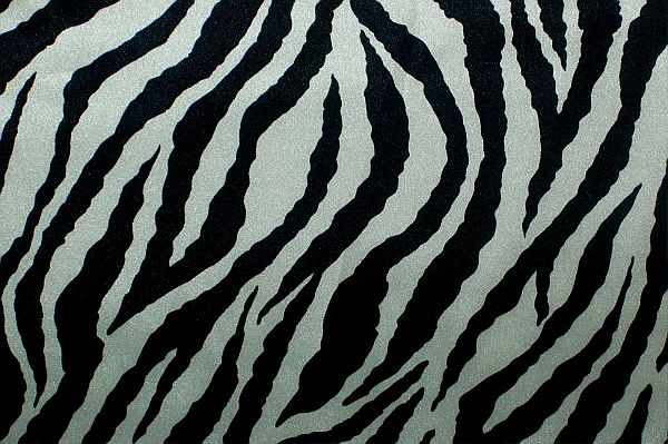 """not your mother's"" satin bonnet (Zebra)"