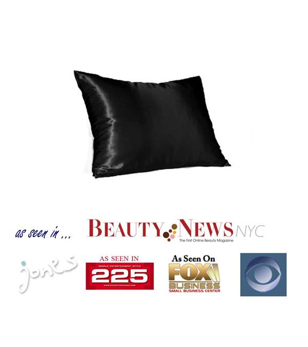 Beauty Satin Pillowcase (Black)